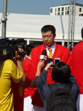 中国メディアも存在感 「いいね!ロンドン」