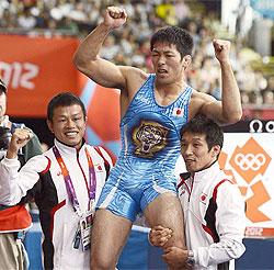 見せた、男の意地! 米満達弘、男子レスリング66キロ級で金メダル
