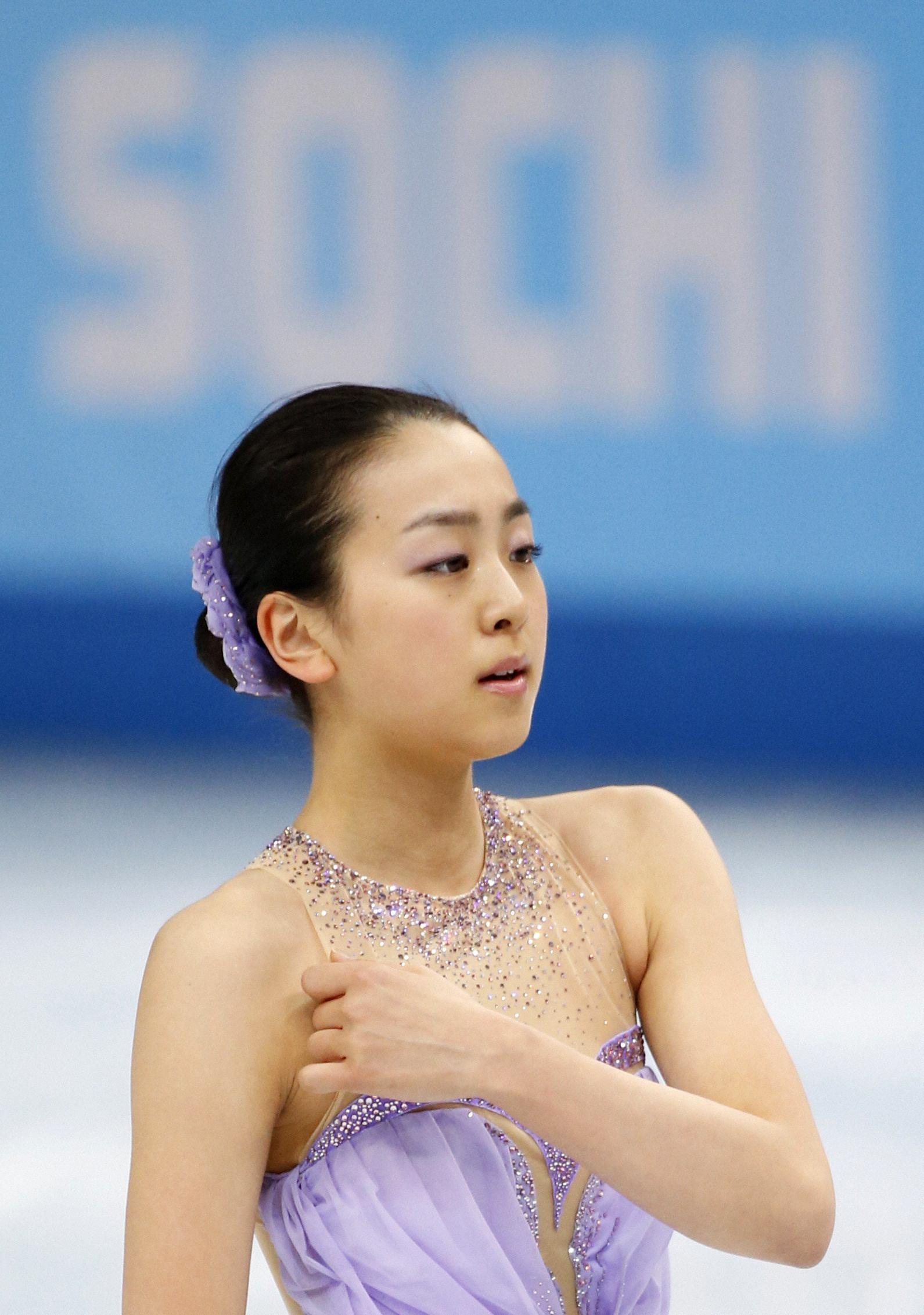 浅田SP16位、メダルは絶望的 自慢のジャンプで手痛いミス