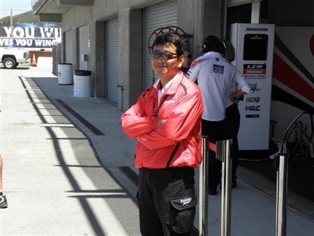 モトGPへの熱意を見せるブリヂストンの山田宏モーターサイクルレーシングマネージャー