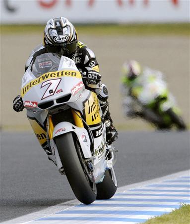 昨年秋に行われたオートバイ世界選手権の日本GP。今年も延期されたが、被災地へのモータースポーツ界からも支援の輪が広がっている。