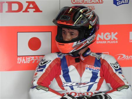 日本GPに特別枠で参戦した伊藤真一