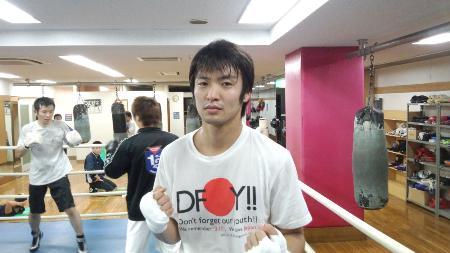 桜井孝雄氏の最後の教え子、ライト級の佐藤匠