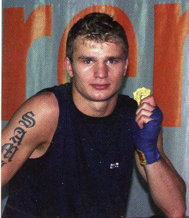 スウェーデンのボクシング専門誌に掲載されたテルブニャ