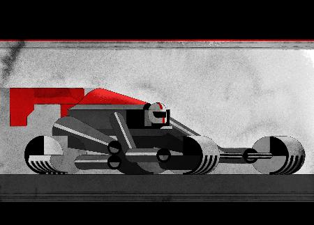 決算報告会でピレリのイメージを伝えるイラスト Pirelli