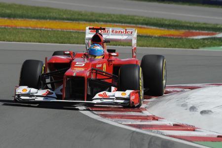 F1カナダGPは1ストップ作戦で5位のアロンソ Ferrari