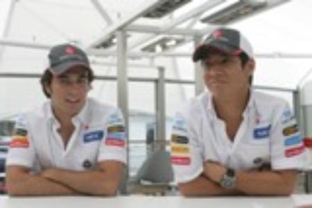 ペレス(左)にポイントでリードされているが、エースは可夢偉(右)だ Sauber