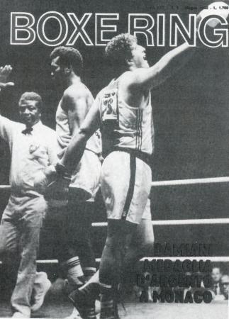 82年にダミアニがステベンソンをアマ世界選手権で破った試合が表紙のイタリアの専門誌