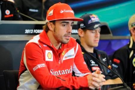 逆転総合優勝を狙うアロンソ Ferrari