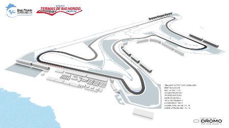 14年の開催が検討されるアルゼンチンのサーキットのイラスト