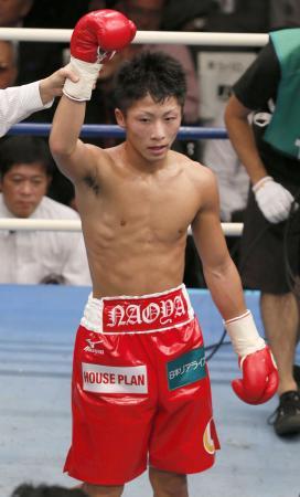 2012年10月のデビュー戦でKO勝ちした井上尚弥