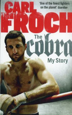 フロッチの自伝「ザ・コブラ」のペーパーバック版の表紙