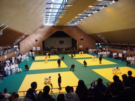 2月に福島県三春町で行われた女川町長旗争奪大会の様子