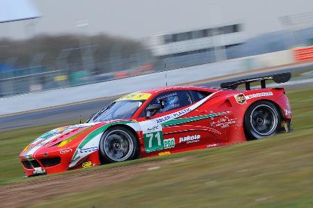 開幕戦2位となった小林可夢偉のフェラーリ Ferrari