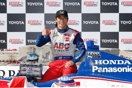 経験を生かし、インディ初制覇した佐藤琢磨 Honda