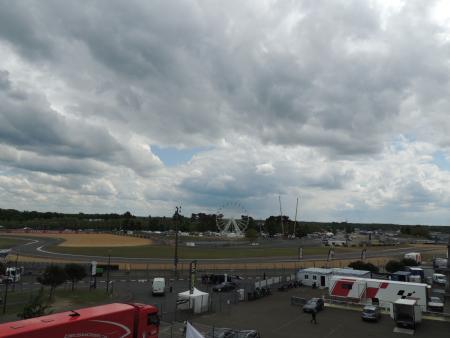 不安定な天候の多いフランスGPのルマン・サーキット