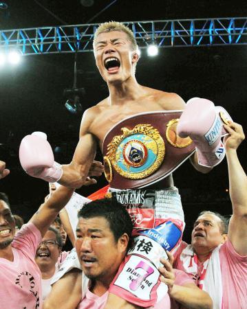 8月1日にフィリピンで行われたWBOバンタム級タイトルマッチで新王者となった亀田和毅