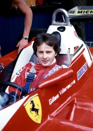 27番のフェラーリで活躍したジル・ビルヌーブ Ferrari