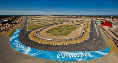 新たに開催されるアルゼンチンのサーキット
