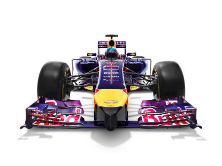 2014年のRed BullニューマシンRB10(写真提供・Red Bull)