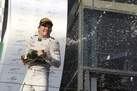 シーズン開幕戦で優勝したメルセデスのニコ・ロズベルグ=MERCEDES AMG PETRONAS