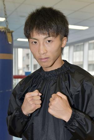 WBCライトフライ級王者の井上尚弥=横浜市の大橋ジム