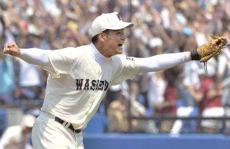 西東京代表として夏の甲子園に出場する、早実高の清宮幸太☆(郎の旧字体)一塁手