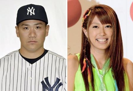 ヤンキースの田中将大投手、里田まいさん