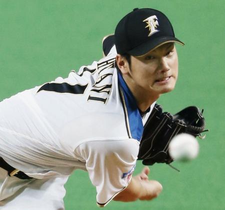 完投で14勝目を挙げた日本ハム・大谷=札幌ドーム
