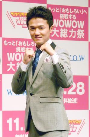 初の世界戦に向け意気込む、WBCライトフライ級3位の木村悠=25日、東京都新宿区