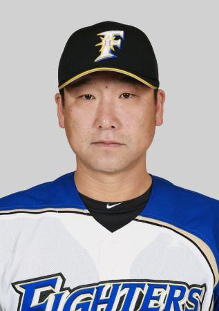 日本ハムの中嶋聡捕手