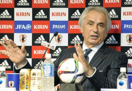 日本代表のハリルホジッチ監督