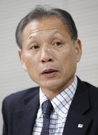日本サッカー協会の原博実専務理事
