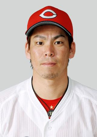 広島の前田健太投手