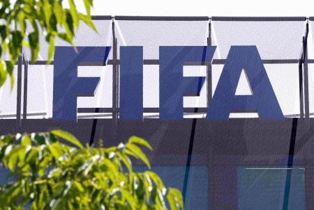 国際サッカー連盟(FIFA)の本部=チューリヒ(ロイター=共同)