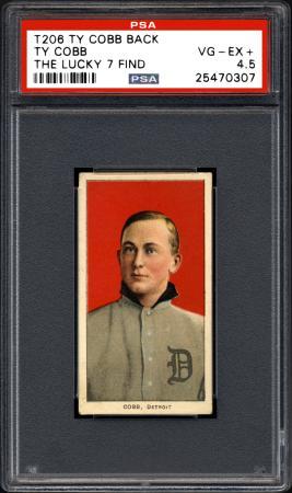 発見されたタイ・カッブの野球カード(AP=共同)