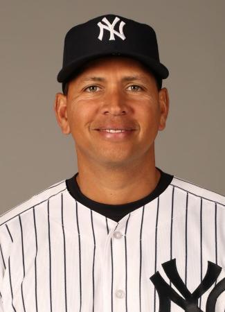 ヤンキースのアレックス・ロドリゲス内野手(ゲッティ=共同)