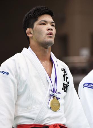 柔道全日本選抜体重別選手権の男子73キロ級で優勝した大野将平。リオデジャネイロ五輪代表に選出された=3日、福岡国際センター