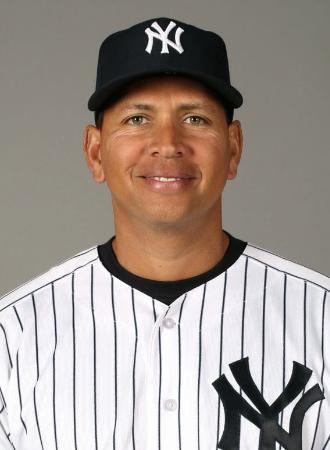 ヤンキースのロドリゲス内野手(ゲッティ=共同)