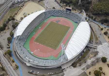 うまかな・よかなスタジアム=熊本市、2015年2月撮影