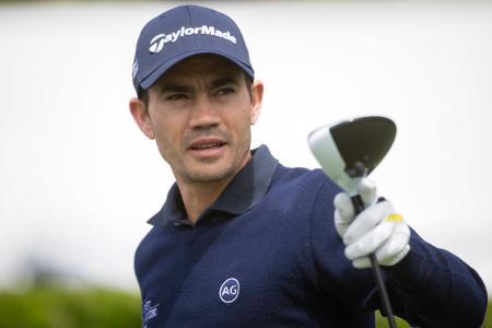 リオデジャネイロ五輪辞退を表明した男子ゴルフのカミロ・ビジェガス(AP=共同)