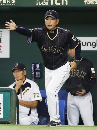 野球日本代表の小久保裕紀監督