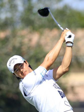 第1ラウンド、イーブンパーで63位と出遅れた石川遼=PGAナショナル(共同)