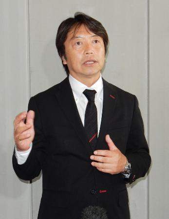 J2熊本の池谷友良氏=2016年
