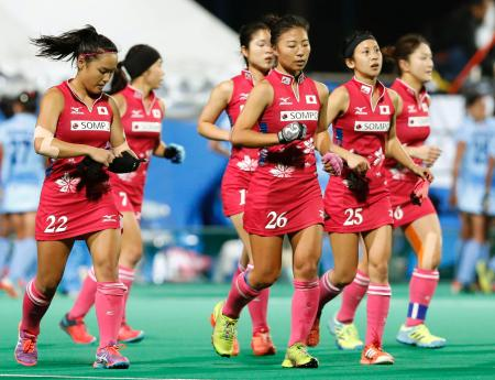 準決勝でインドに敗れた日本=川崎重工ホッケースタジアム