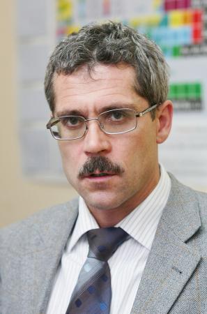 ロシアのスポーツ選手へのドーピングなど組織的不正を告白したロトチェンコフ氏=2006年1月(タス=共同)