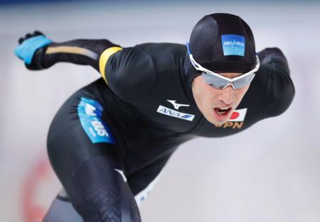男子1万メートル(Bクラス) 13分11秒88の日本新で6位の土屋良輔=スタバンゲル(共同)