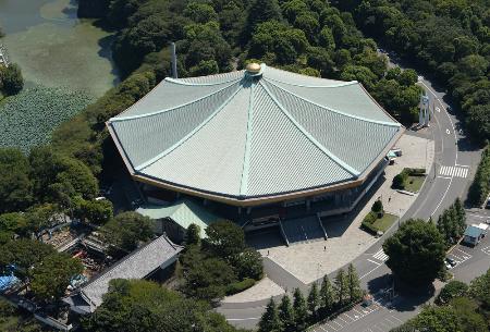 2020年東京五輪柔道会場になる日本武道館=2013年