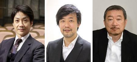 左から野村萬斎さん、山崎貴さん、佐々木宏さん
