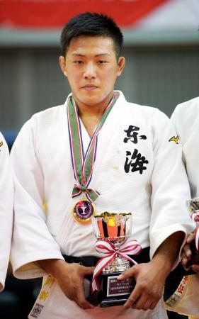 男子73キロ級で優勝した立川新=千葉ポートアリーナ